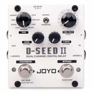 Joyo D-Seed II Stereo Multi-Delay