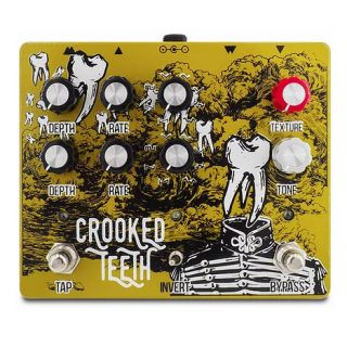 New Pedal: Pine-Box Crooked Teeth Dual Tremolo + Preamp