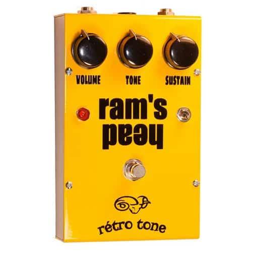 Retro Tone Ram's Head