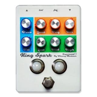 New Pedals: Whimsy Machines King Spark Overdrive + Filter
