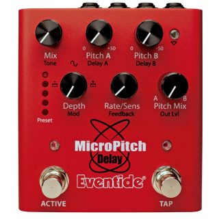 New Pedals: Eventide MicroPitch Delay