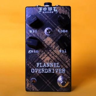 New Pedals: Fowl Sounds Flannel Overdriver