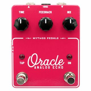 New Pedals: Mythos Oracle Analog Echo
