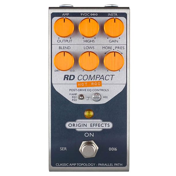 Origin Effects Revival Drive Hot Rod Compact