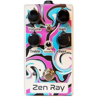 New Pedals: Pogo Pedals Zen Ray Overdrive
