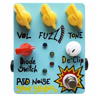 New Pedals: Red Noise Germanium Stone Blender