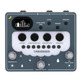 New Pedals: Bananana Effects TARARIRA Pitch Shift Sequencer V2
