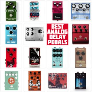 2021 UPDATE: The Best Analog Delay Pedals