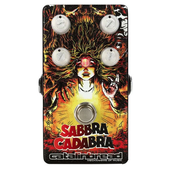 Catalinbread Sabbra Cadabra Overdrive Clearwell Edition