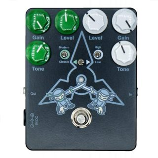 Dueling Ninjas Dual Overdrive Pedal