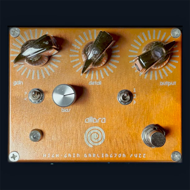 Spiral Electric FX Allora High-Gain Darlington Fuzz
