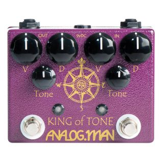 Legendary Pedals: Analogman King of Tone Dual Overdrive