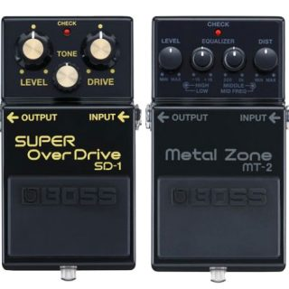 New Pedals: BOSS MT-2 and DS-1 Anniversary Editions