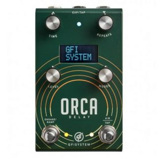 New Pedal: GFI Orca Stereo Delay