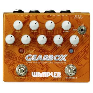 New Pedal: Wampler Gearbox Andy Wood Signature Overdrive/Distortion
