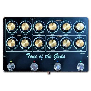 New Pedal: JD Analog Tone of the Gods