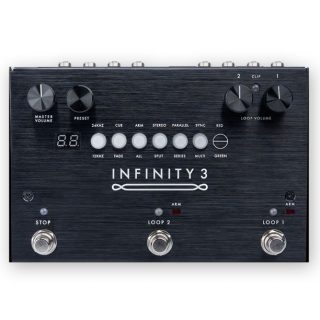 Upcoming Pedals: Pigtronix Infinity 3 Hi-Fi Stereo Double Looper