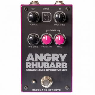 New Pedals: Redbeard Effects Angry Rhubarb MkII Overdrive