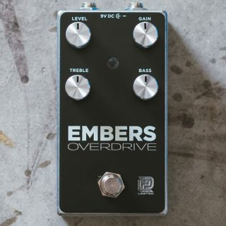 New Pedals: LPD Pedals Embers Klon-inspired Overdrive