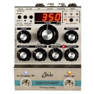 Now Shipping: Suhr Discovery Analog Delay