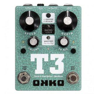 New Pedal: OKKO FX T3 Tremolo