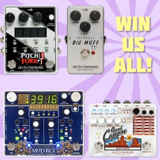 Win 4 Creative Electro-Harmonix Pedals for Guitar and Synth! (value $900+)