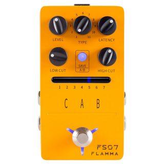 Flamma Cab FS07 Stereo Cabinet Simulator with IR