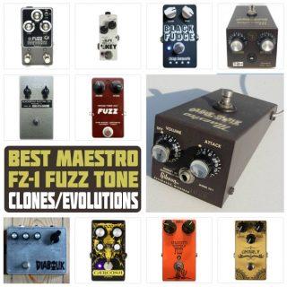 6 Best Maestro FZ-1 Fuzz Tone Clones & Evolutions in 2021