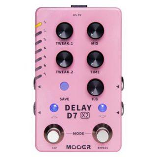 Mooer D7 X2 Stereo Multi-Delay