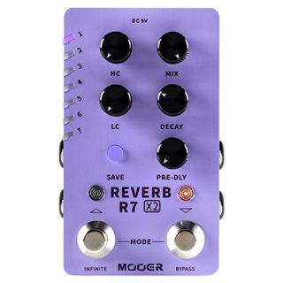 Mooer R7 X2 Stereo Multi-Reverb