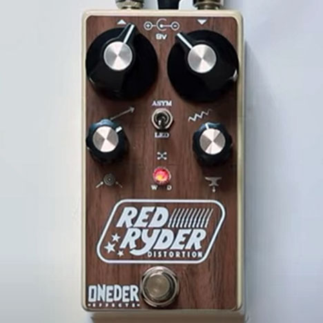Oneder Effects Red Ryder Distortion