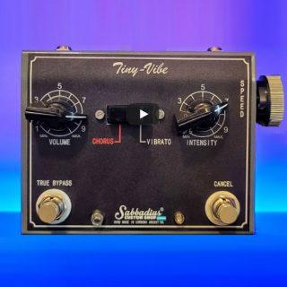Upcoming Pedal: Sabbadius 68 Tiny Vibe