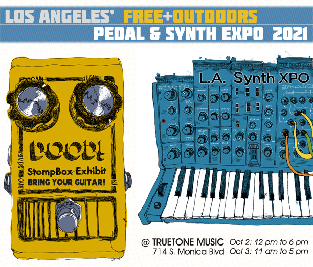 L.A. Pedal & Synth Expo