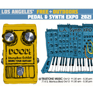 OUTOORS L.A. Pedal & Synth Expo on October 2-3!