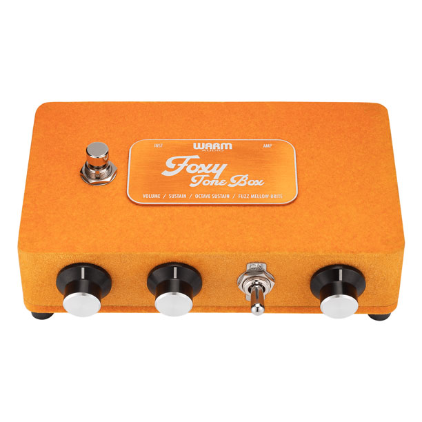 Warm Audio Foxy Tone Box Fuzz