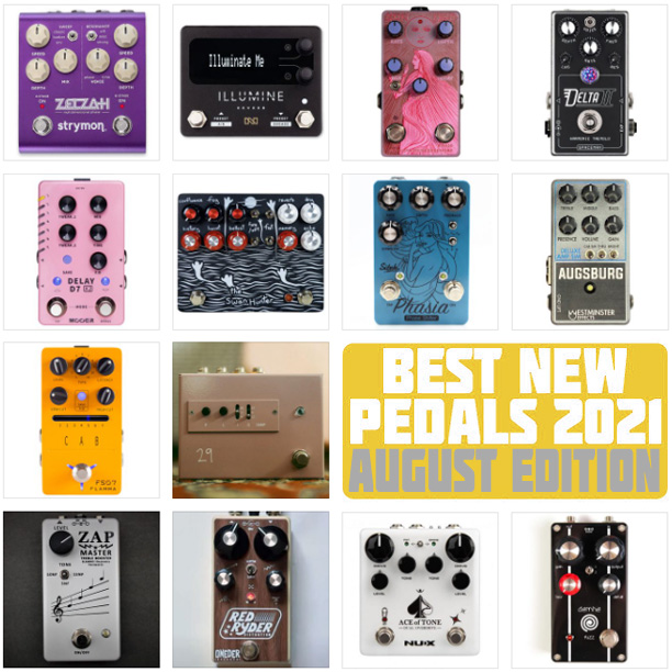 Best New Pedal releases 2021
