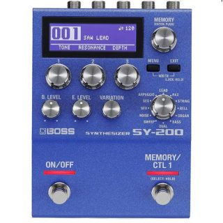 New Pedal: BOSS SY-200 Synth Pedal