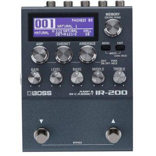 BOSS IR-200 Amp and IR Cabinet Simulator