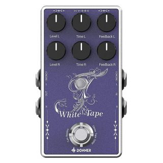 New Pedal: Donner White Tape Stereo Dual Echo