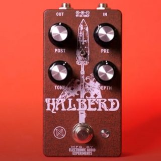 New Pedals: Electronic Audio Experiments Halberd V2