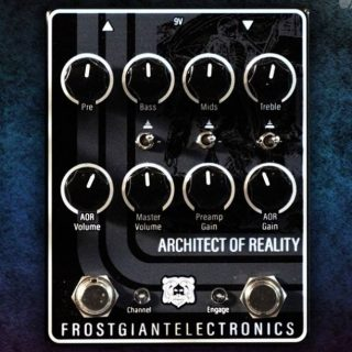 New Pedal: Frost Giant Electronics Architect of Reality