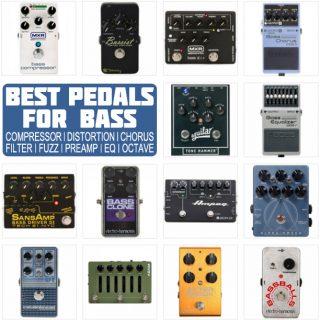 Best Bass Pedals in 2021: Compressor, EQ, Fuzz, Chorus + more