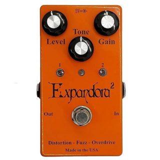 Expandora Squared Overdrive/Distortion/Fuzz