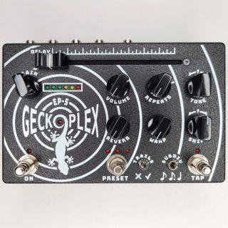 New Pedals: Geckoplex EP5 Delay/Reverb