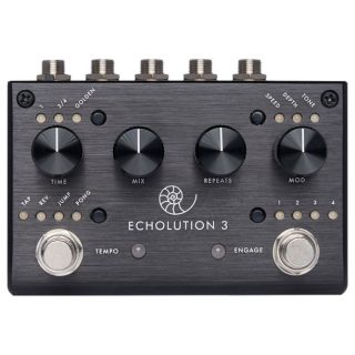 New Pedal: Pigtronix Echolution 3 Multi-Tap Stereo Delay