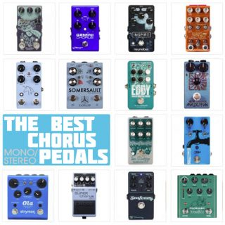 2021 UPDATE: Best Chorus Pedals (Stereo & Mono) | a Buyer's Guide