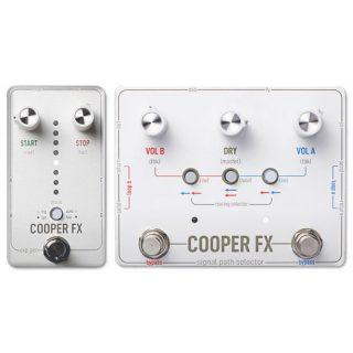 New Pedals: Cooper FX Signal Path Selector & Exp Gen