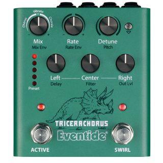 New Pedal: Eventide Tricerachorus Pedal Stereo Chorus