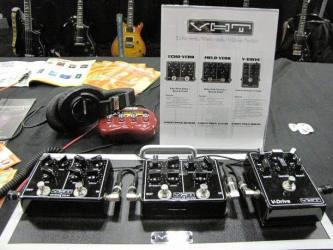 VHT Pedals SXSW 2016 Stompbox Exhibit Board