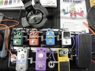 Hotone SXSW 2016 Stompbox Exhibit Board
